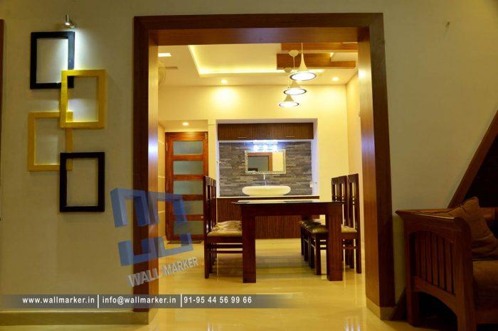 interior work at thalassery