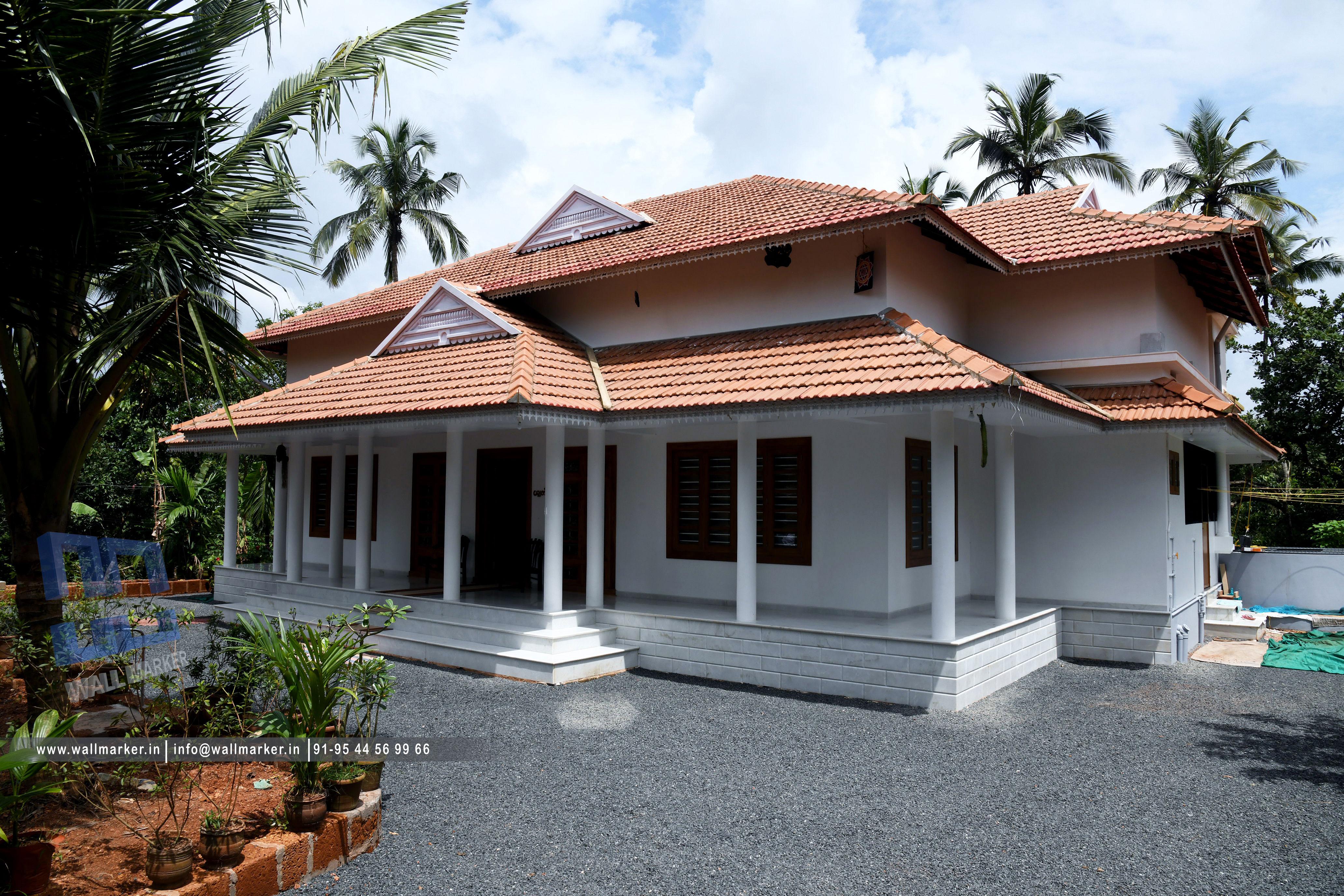 Traditional Home design @chakkarakkal