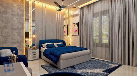 home interior curtains